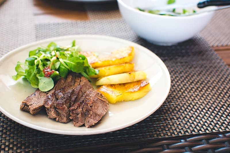 How to Calculate Your BMI - Steak with Veggies