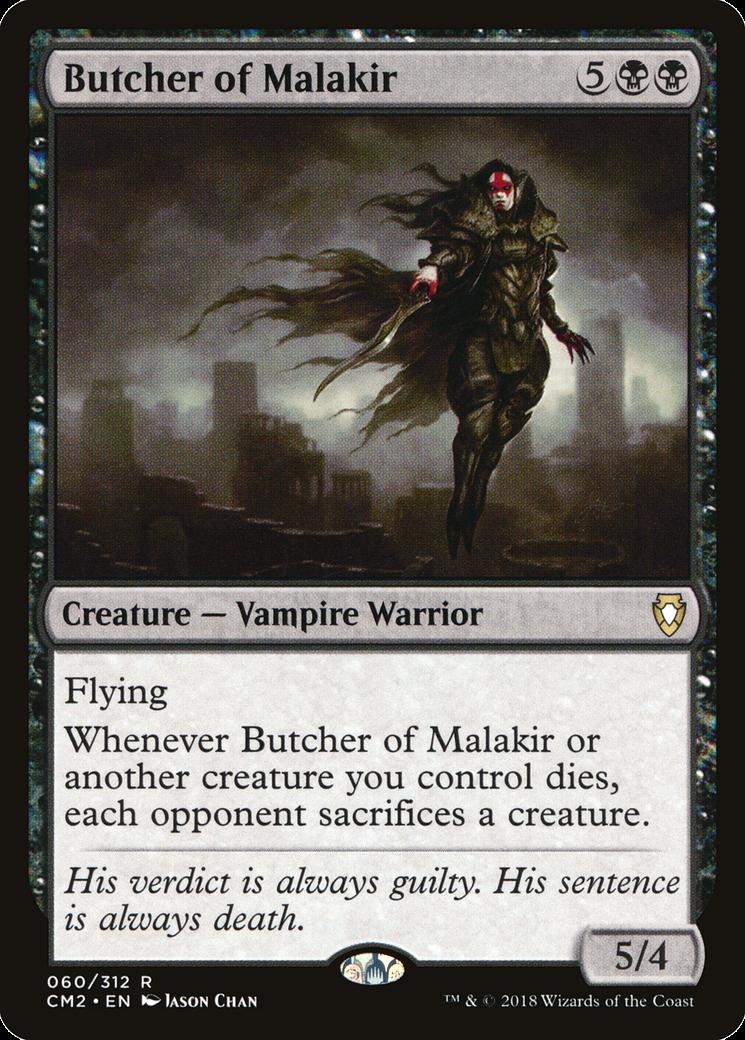 Butcher of Malakir MTG Card