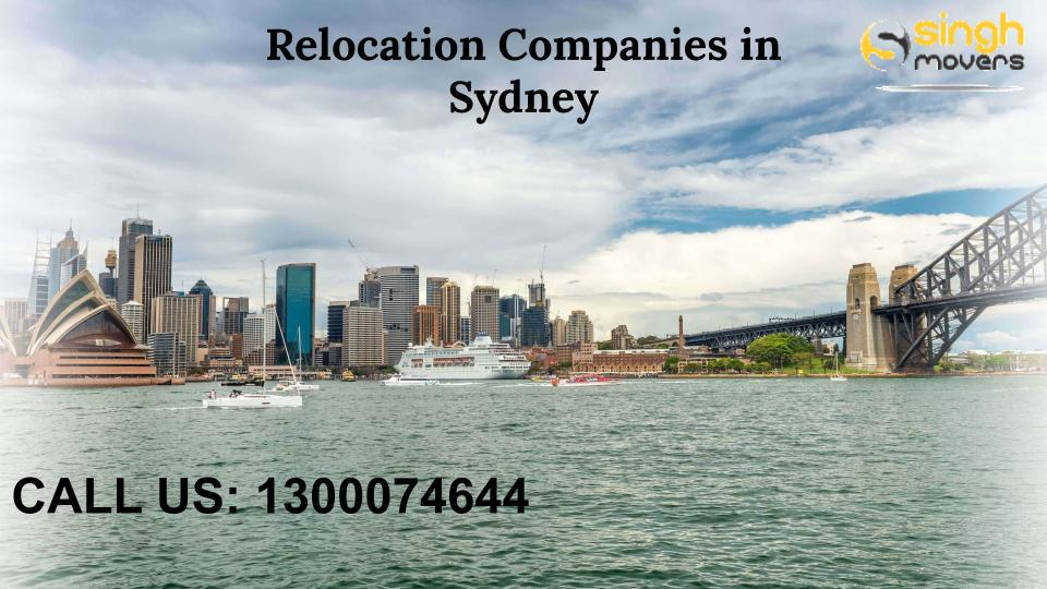 Relocation Companies in Sydney
