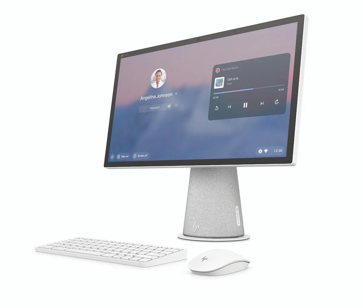 HP s'essaie à la Chromebase l'ordinateur tout en un.