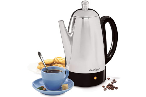 West Bend Classic Stainless Steel Electric Coffee Percolator