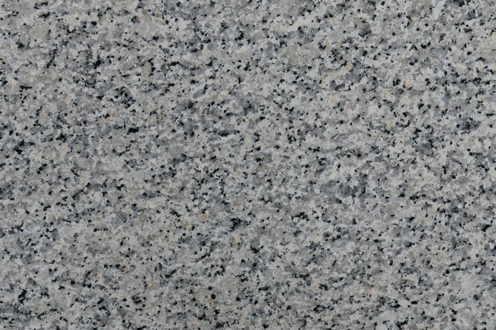 A clear picture of a granite counter top's texture and look