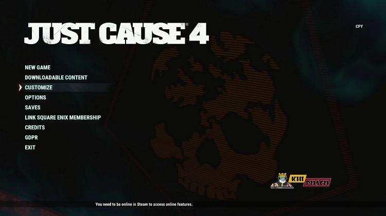 Cùng chiến Just Cause 4 full cho PC nào