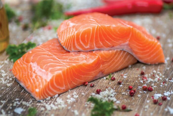 Thực phẩm tốt cho gan cá béo
