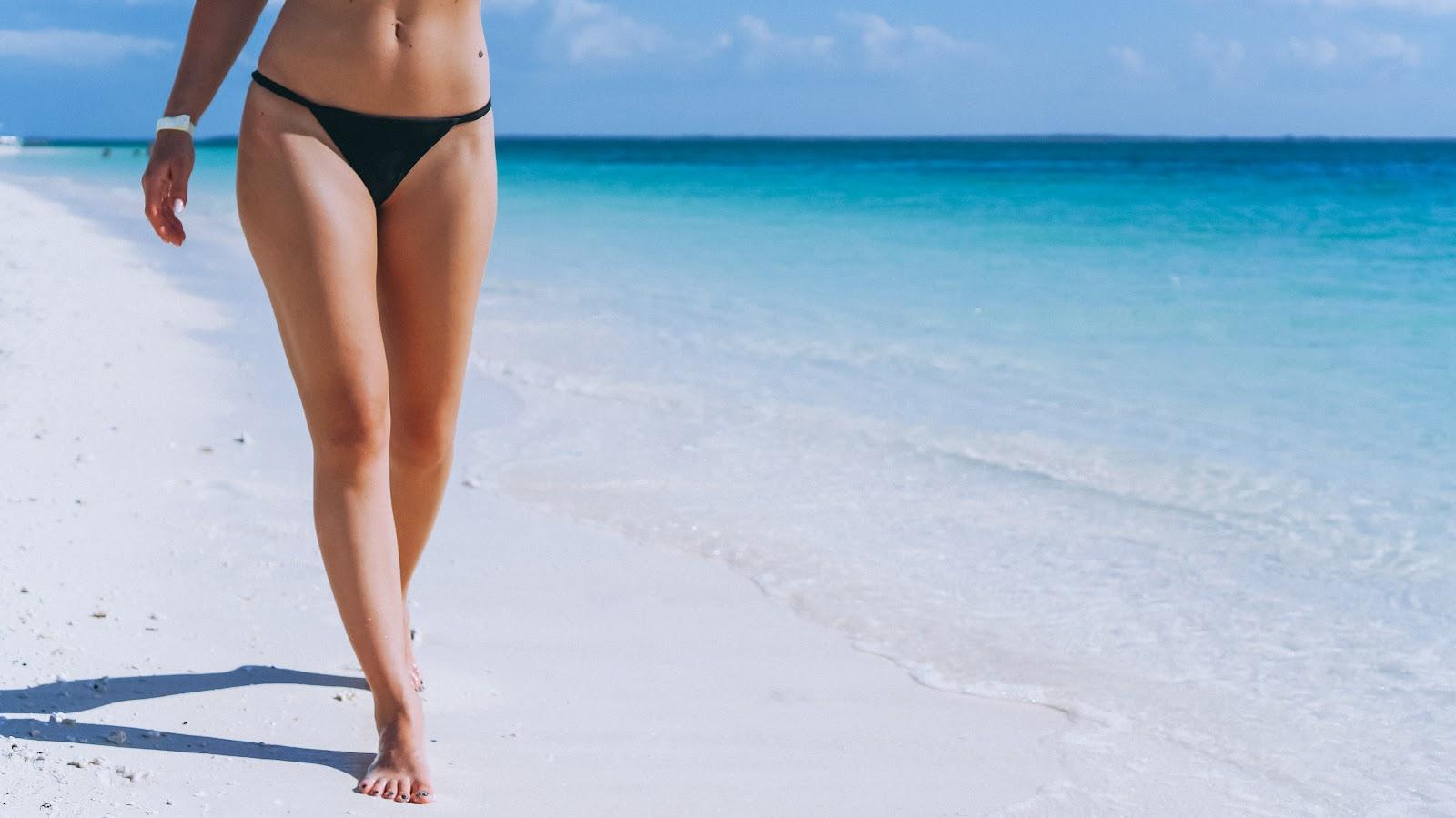 Nombre: Piernas femeninas. ALT: Las piernas es una de las zonas donde más se realiza la depilación con láser