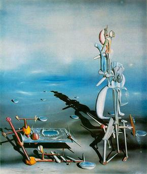 Yves Tanguy - Divisibilité indéfinie (indefinite Divisibility), 1942