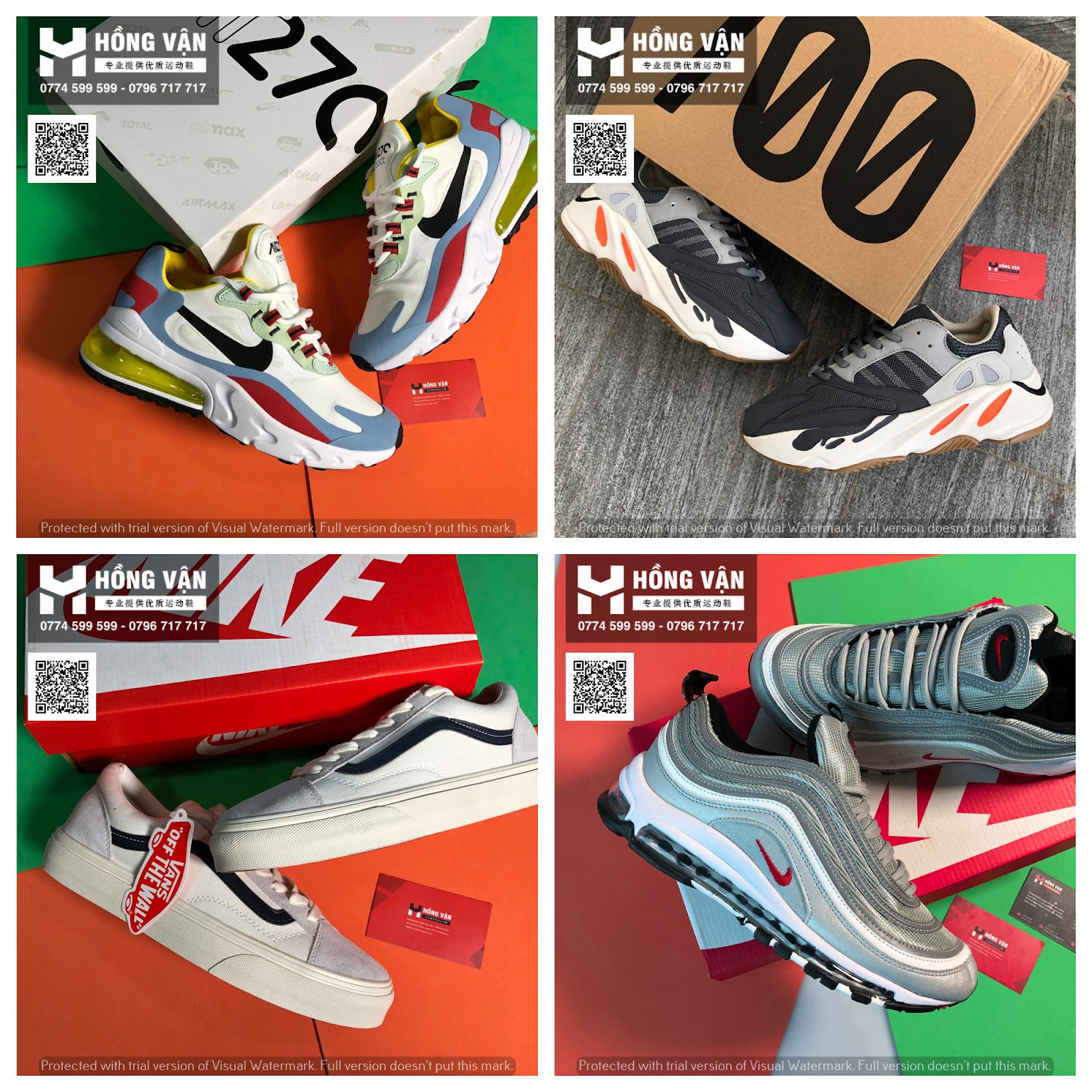 Hồng Vận - Tổng buôn sỉ giày thể thao chất lượng , uy tín   hình thật 100