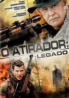 Filme Poster O Atirador: Legado DVDRip XviD Dual Audio & RMVB Dublado