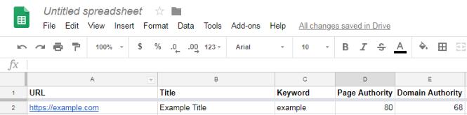 Lưu giữ một bảng dữ liệu thú vị