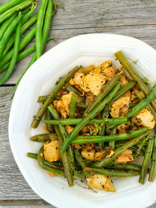 Welcome to Mommyhood: One pot wonder green bean dish (Paleo)