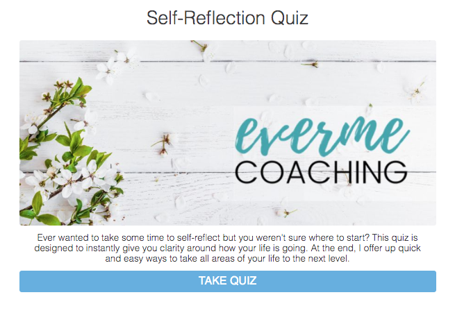 self-reflection quiz cover