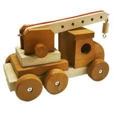 Q Toys Wooden Crane - Monkey Kids