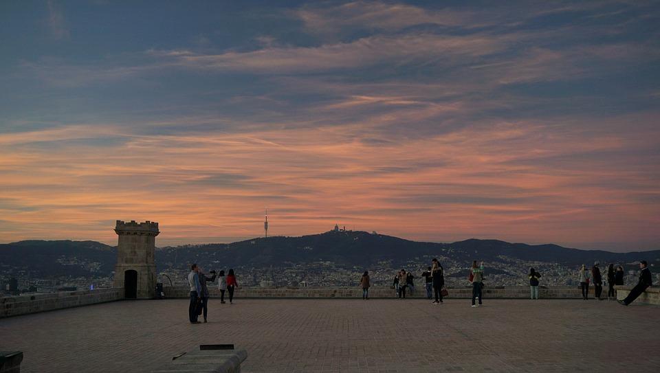 Vue depuis le château de Montjuïc - Barcelone - HomeExchange
