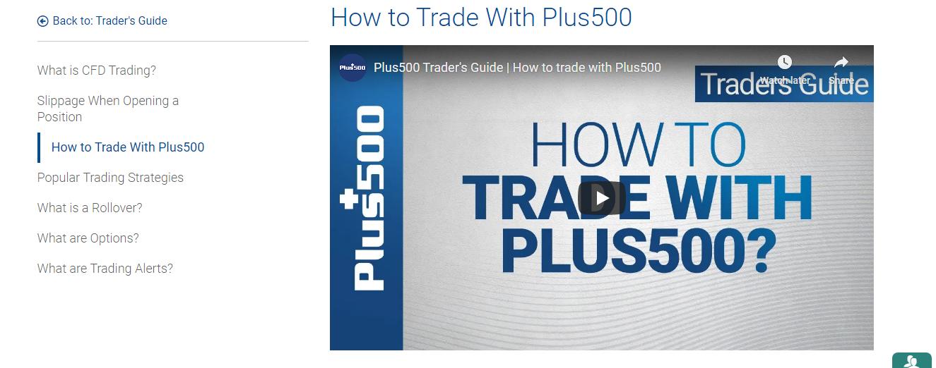 Mit Plus500 traden