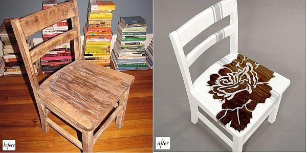 Những gợi ý tân trang ghế cũ thành đồ nội thất đẹp mắt 9