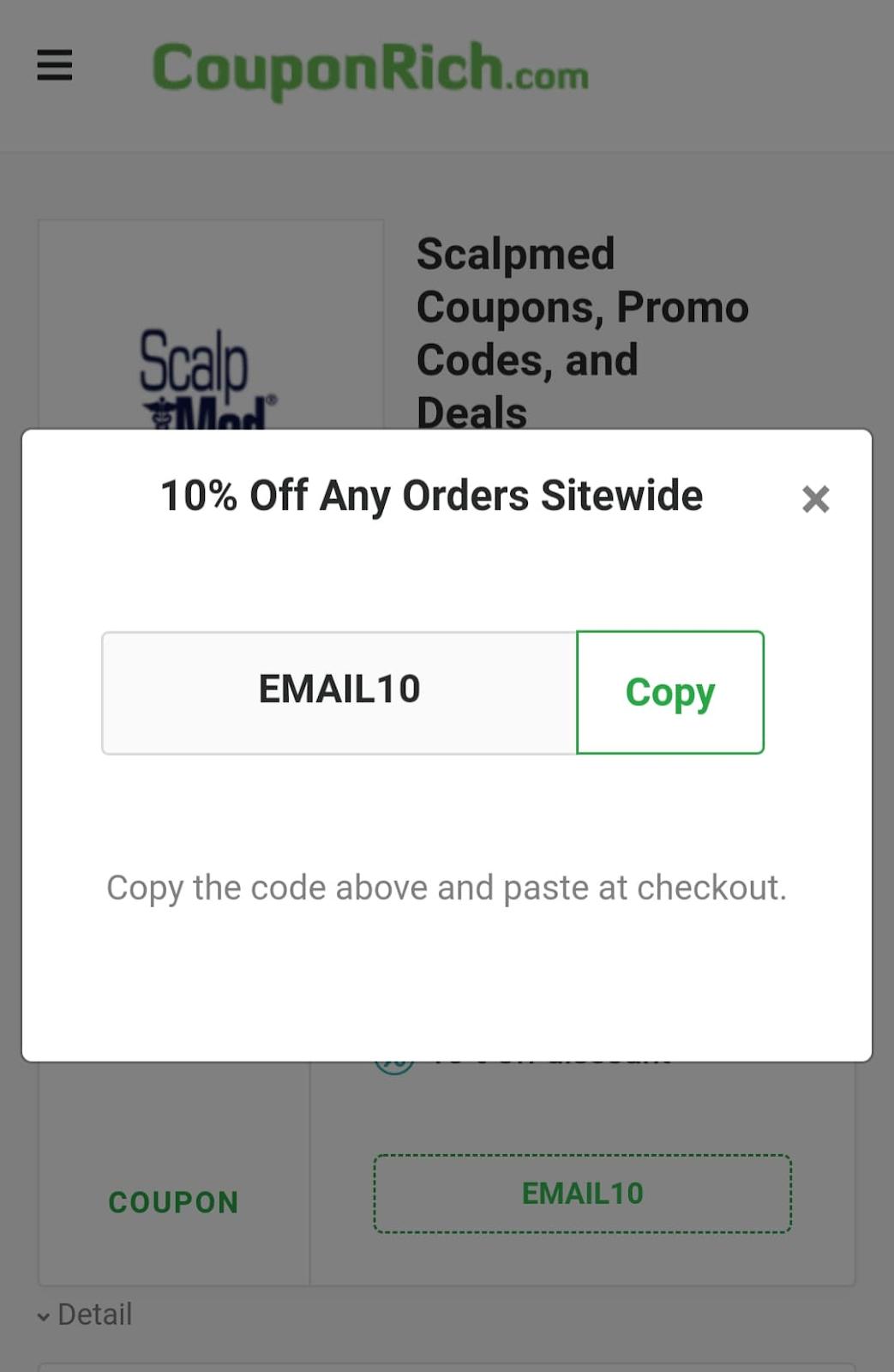 ScalpMed Coupon