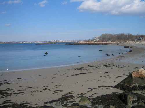 Front Beach Sandy Bay In Rockport Acts As The Beautiful Backdrop For Perfect Swimmer Your Group