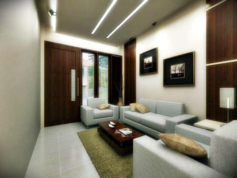 Phòng khách tối giản và phương pháp sắp xếp hợp lý