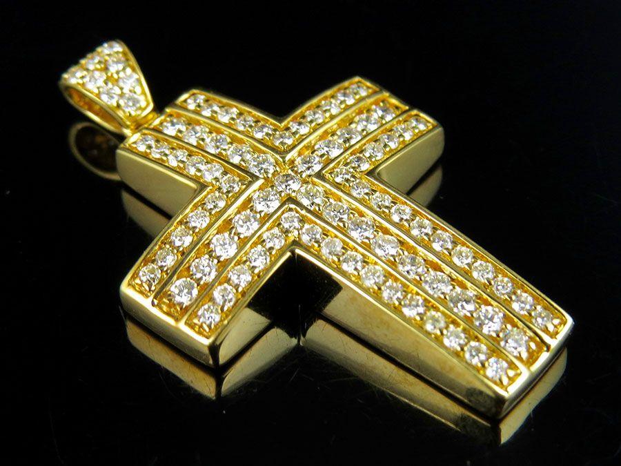 14k gold hip hop Jesus pendant