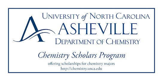 UNC Asheville Department of Chemistry Logo