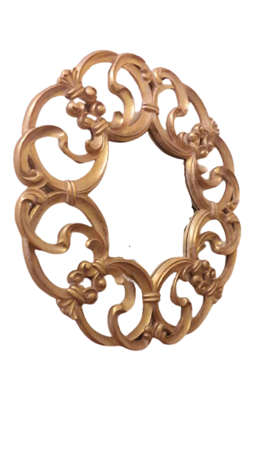 Classic Gold Round Mirror - Kaliuda Gallery Bali - Best Mirror Ideas & Inspiration for Your Home