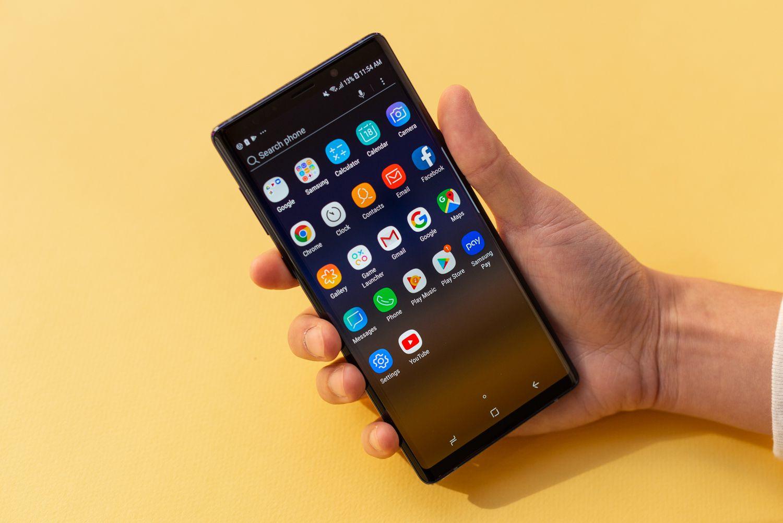 Thay camera trước Samsung Galaxy Note 9 chính hãng