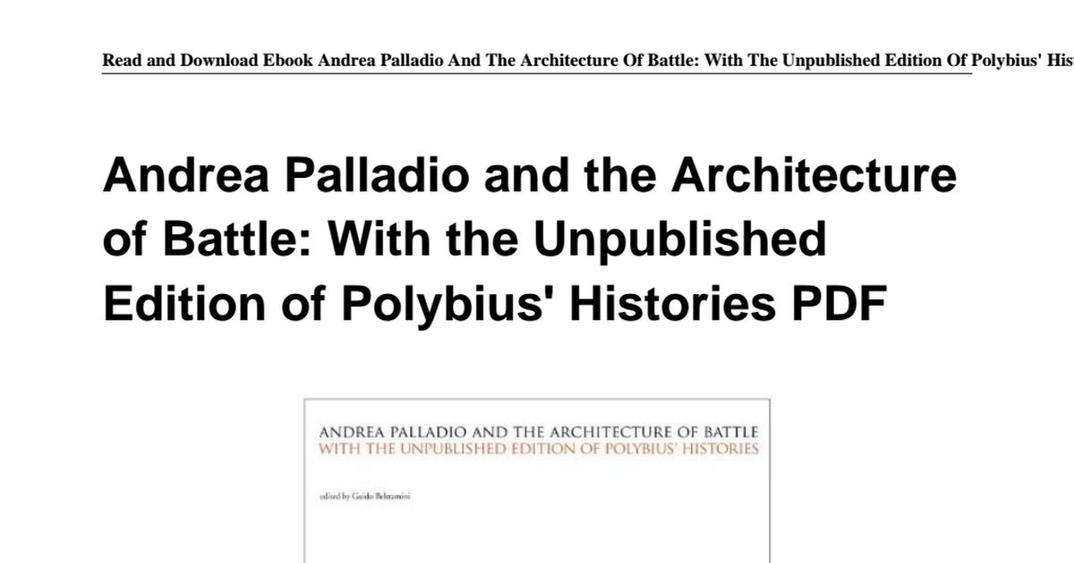 883179986x andrea palladio architecture battle unpublishedpdf 883179986x andrea palladio architecture battle unpublishedpdf google drive fandeluxe Gallery