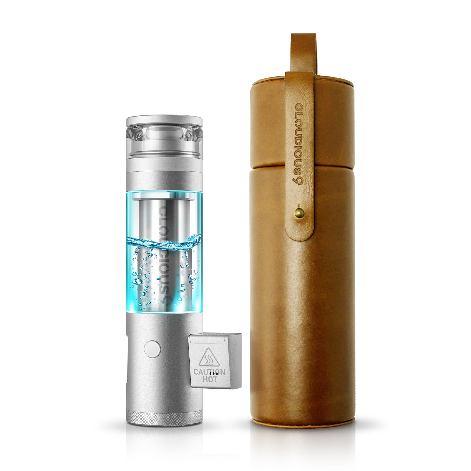 The Cloudious9 Hydrology9 NX pictured here is the latest, best vaporizer. Switch between flower and concentrate with ease.