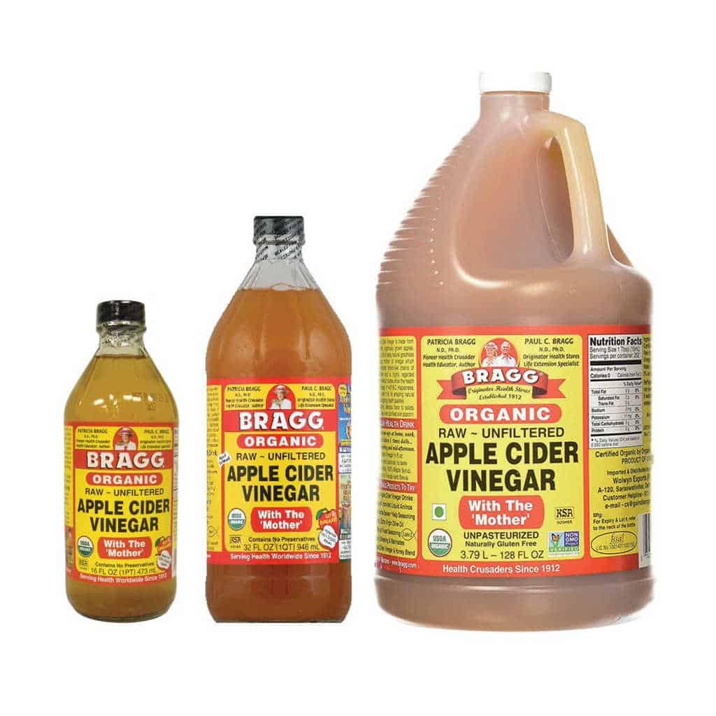 kemasan cuka apel bragg