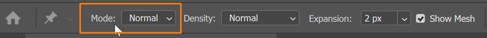 Set the Mode to Normal