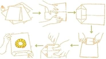 How to make a paper bag paper bag