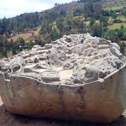 İnka İmparatorluğu dönemine ait olduğu düşünülen şehir sulama sistemi modeli