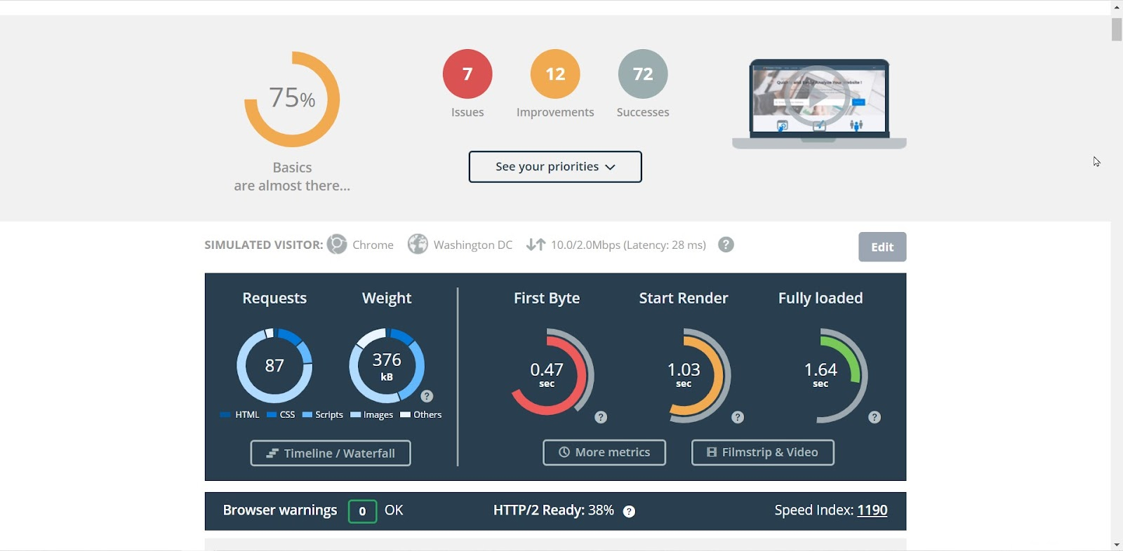 20 Free Website Speed Test Tools And Why You Should Use Them 2