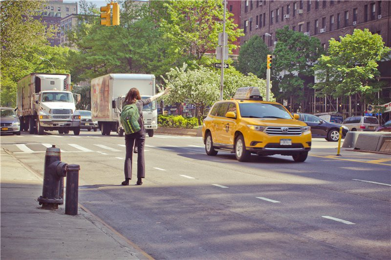 Такси! ))) США глазами туриста, туризм, факты