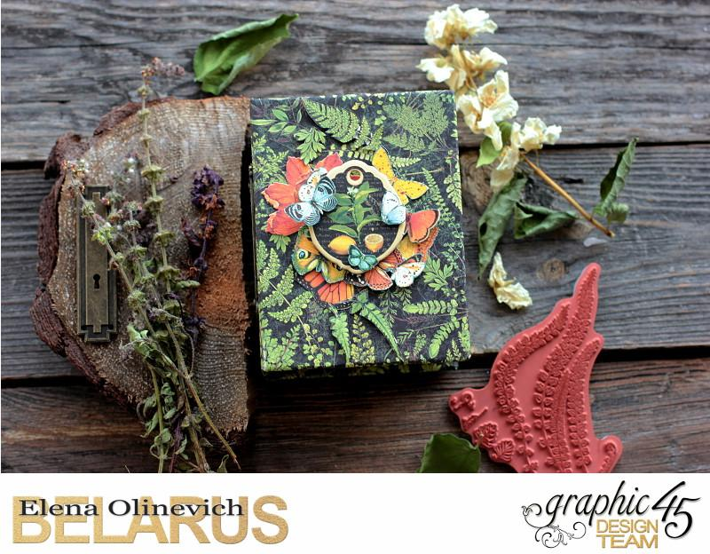 Herbs Box, Nature Sketchbook, by Elena Olinevich, product by Graphic45, photo1.jpg
