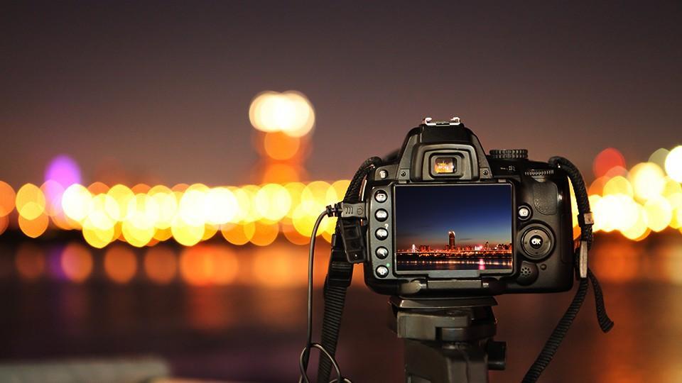 Taking Photographs At Night Time