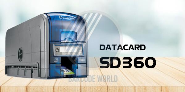 Máy in thẻ nhân viên Datacard SD360 chính hãng, chất lượng I Thế Giới Mã Vạch