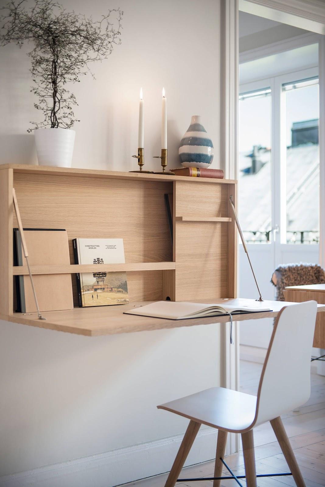 Furnitur modern dan dekorasi yang fungsional - source: pinterest.com
