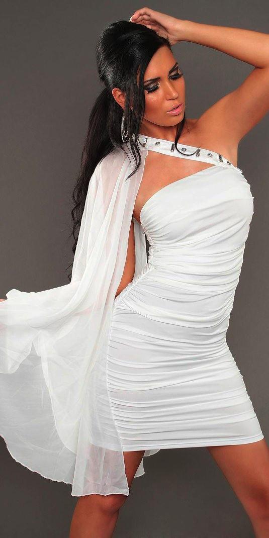 e39c0f599 Vestido Blanco Sexy   Blog Motufashion