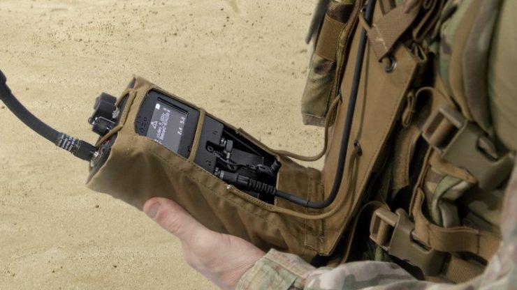 RfPatrol worn by a soldier