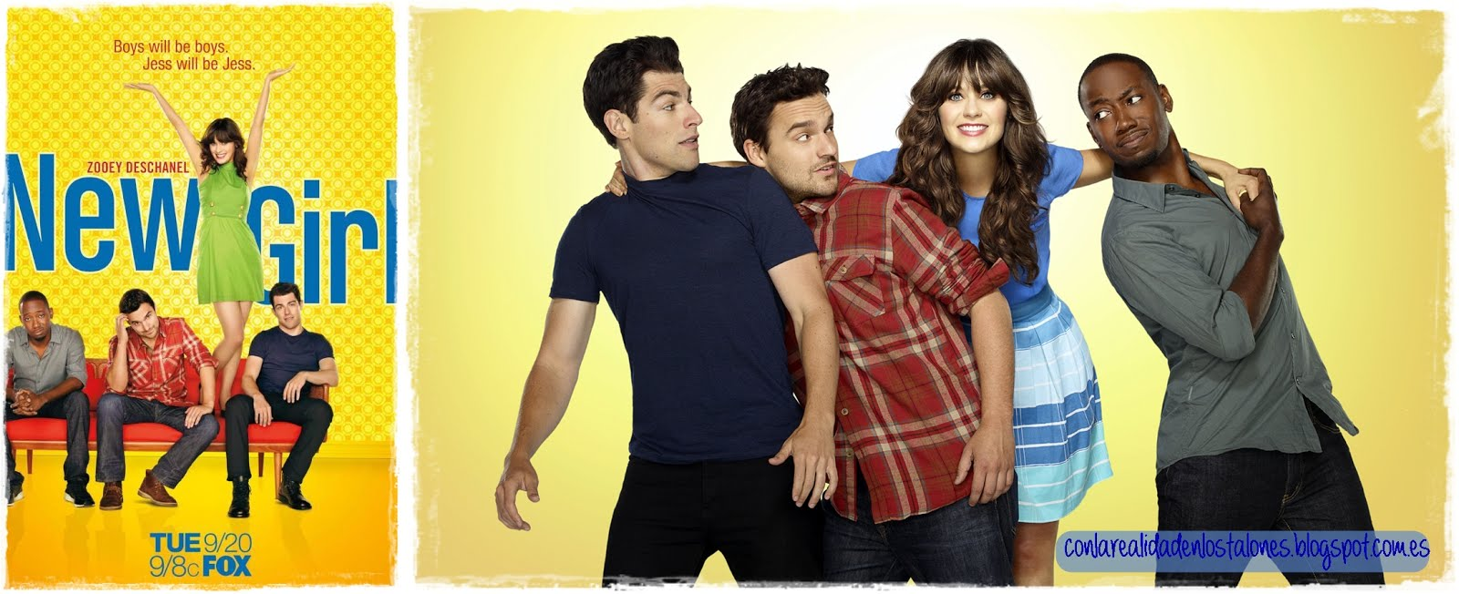 New girl - personajes