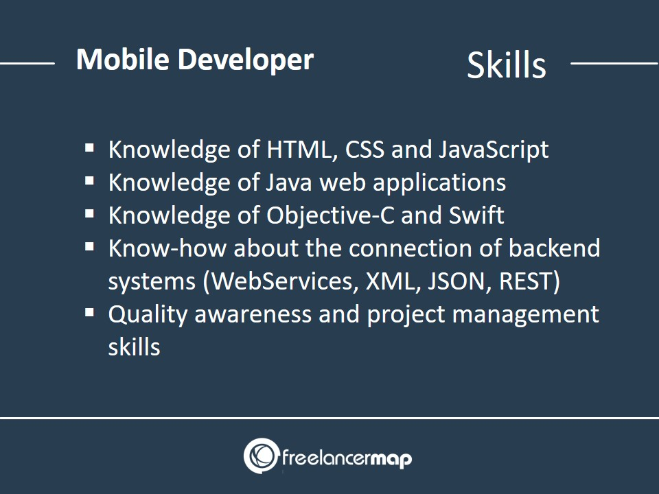 Mobile Developer - Skills Required