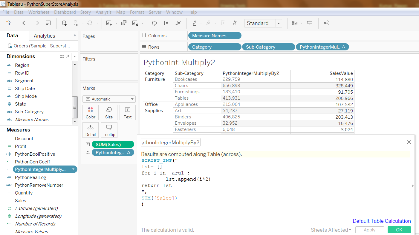 Python Integration with Tableau And Running Python Scripts inside Tableau 40