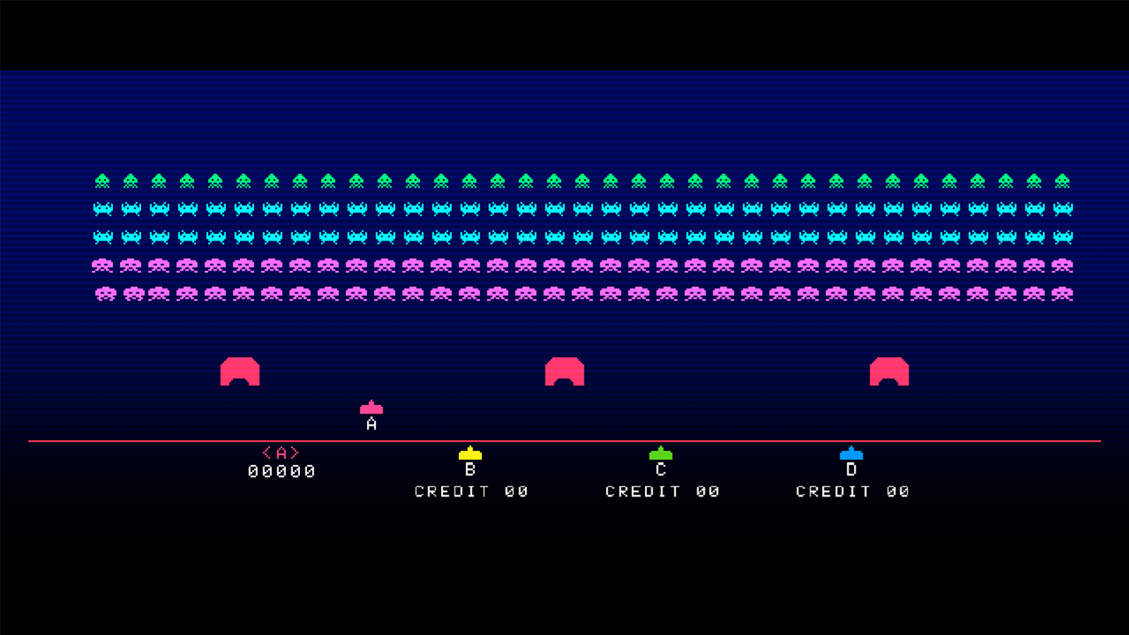 Space Invaders Gigamax 4SE!