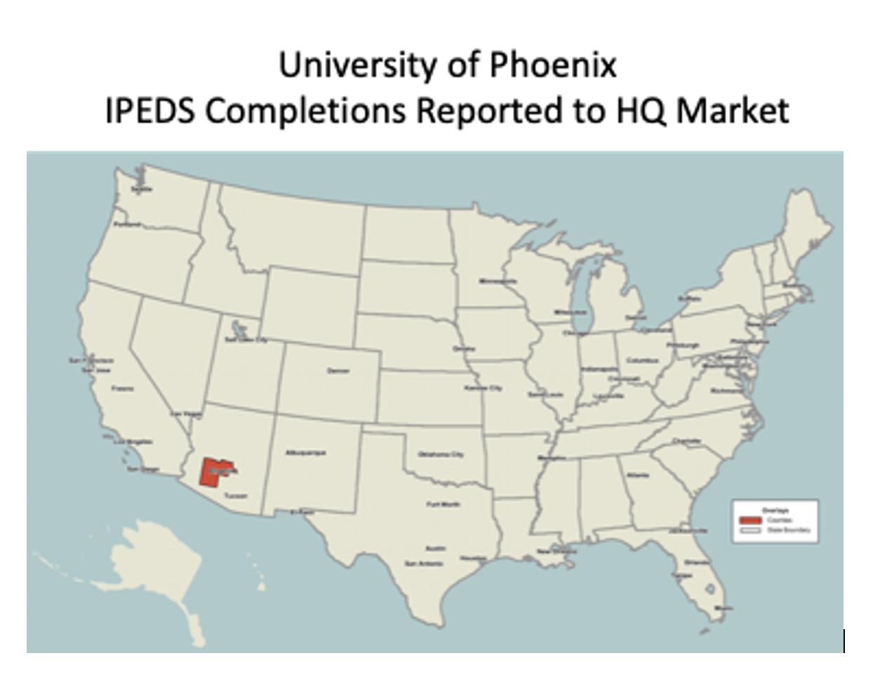 IPED Completions University of Phoenix