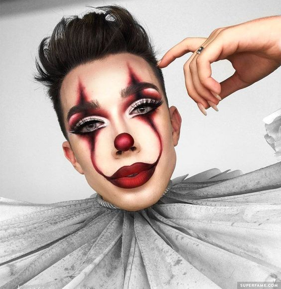 James Charles #makeup #sisters #it #pennywise #EyeMakeupWinter