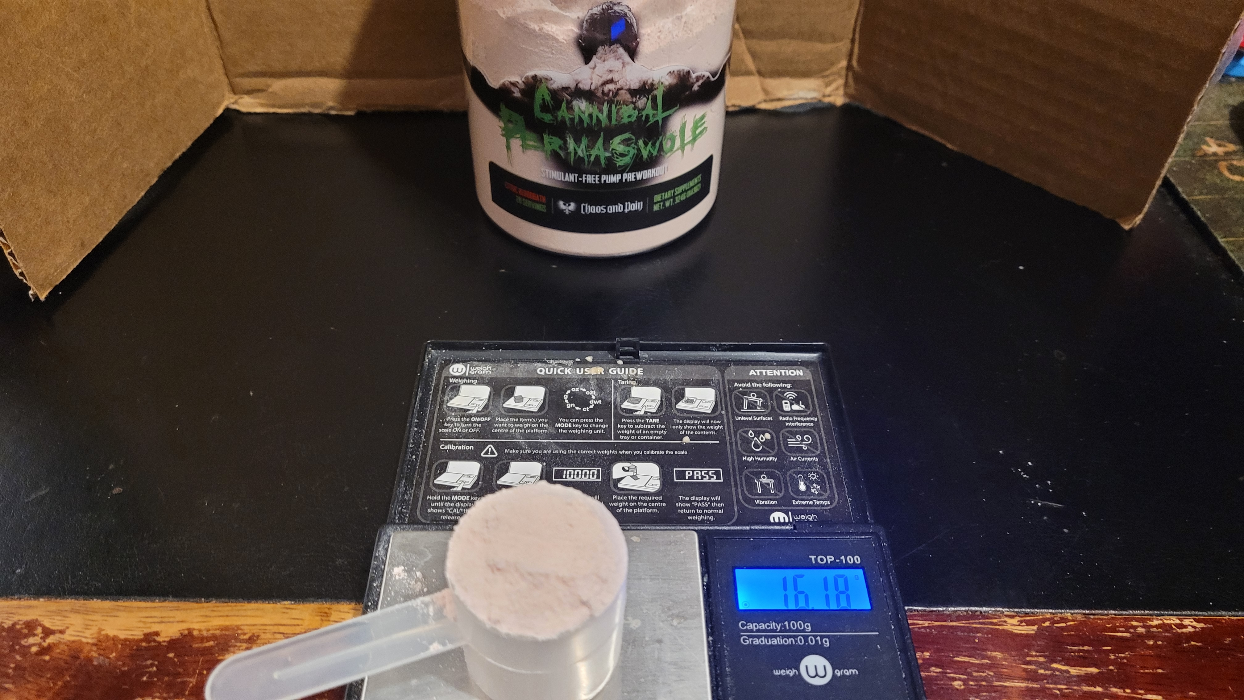 Cannibal Permaswole Scoop Size