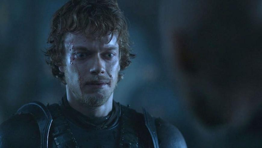 Theon Greyjoy disturbi psicologici nel trono di Spade