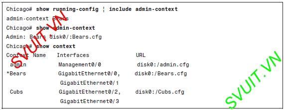 Config Virtual firewall Cisco ASA(8)