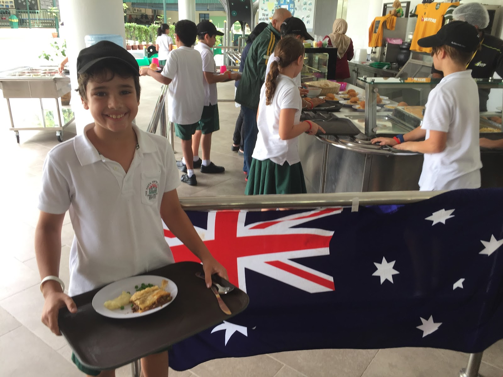 Australia Day lunch at JB